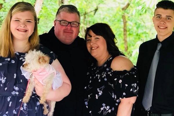 Stoner family (Elisha, Eli, Cheyenne)