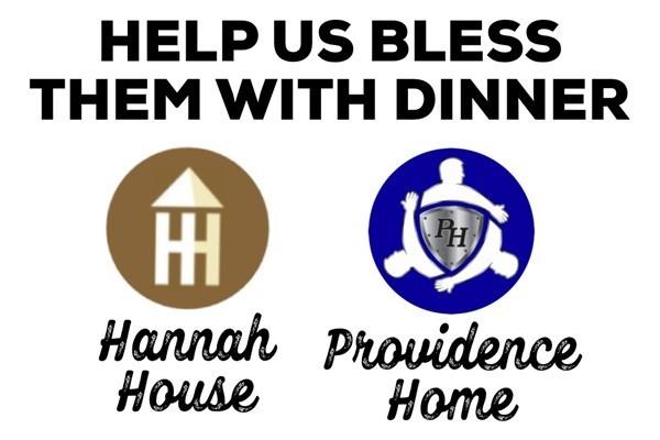 Hannah's House/Providence Home Dinner