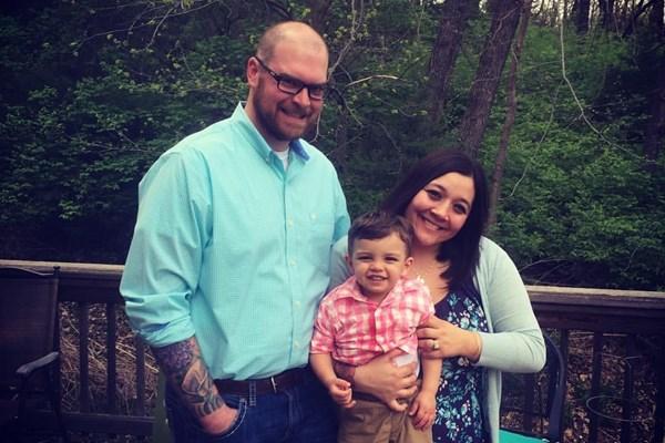 Zach, Tiffany and Landon Pomfret