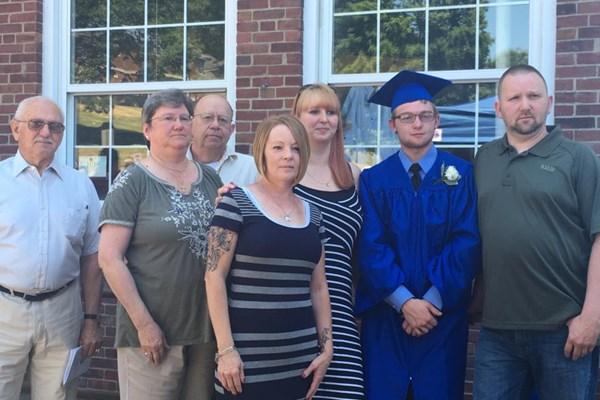 Joey Hyatt Jr and Family