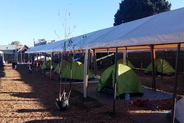 Temporary Urban Campground