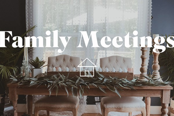 January Family Meeting