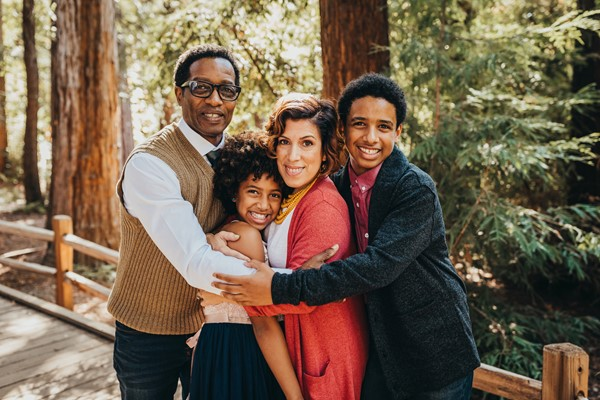 Jerrold and Domenica Lewis & Family