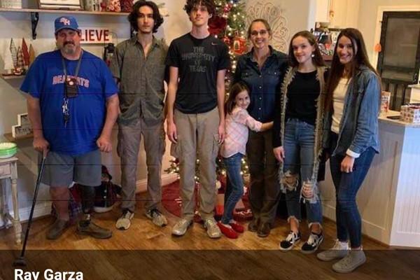 Katy Garza family