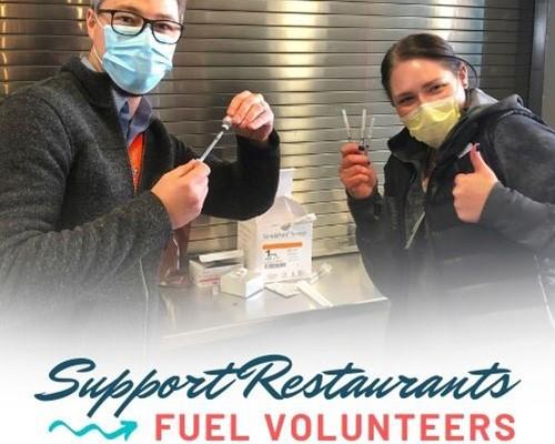 Support Restaurants, Fuel Volunteers