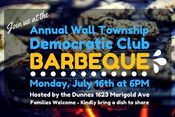 Annual Wall Township Democratic Club Barbeque