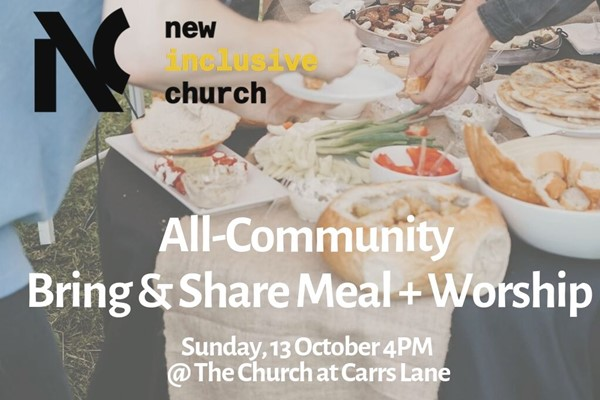 Bring & Share Community Meal - New Inclusive Church