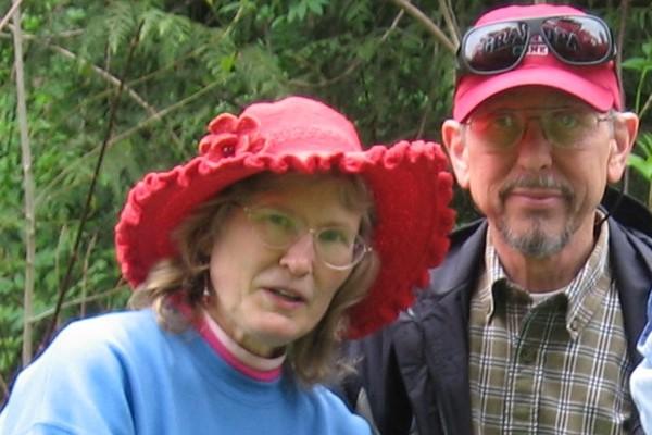 Anna Avalon and Don Hicks