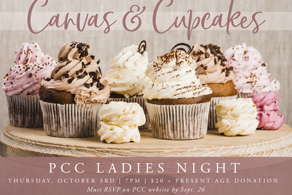 Canvas + Cupcakes Donation for Present Age Ministries