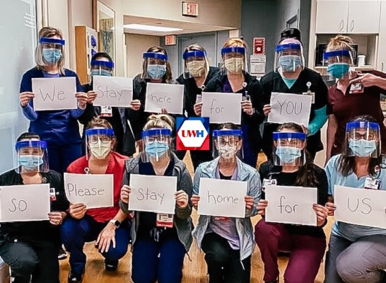 Support COVID Frontline Staff at UW Health