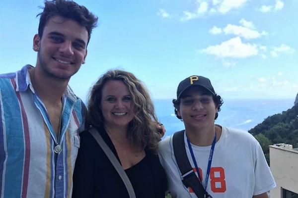 Colleen, Ben and Mikey Igo