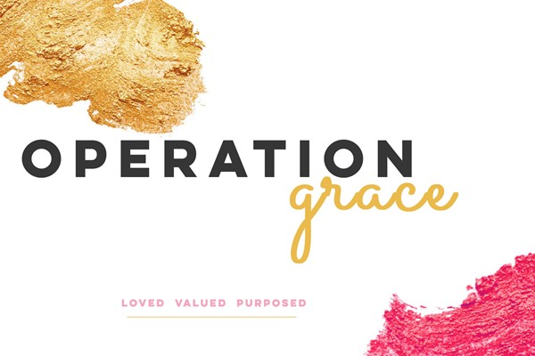 OPERATION GRACE: Bags of Love